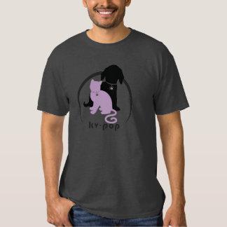 Camiseta de encargo de KV-POP (oscura) Remeras
