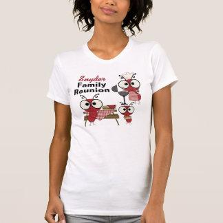 Camiseta de encargo de la reunión de familia poleras