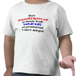 Camiseta de encargo de Twofer del niño