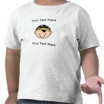 Camiseta de encargo del Blonde del pirata