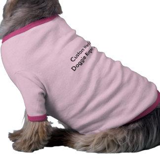 Camiseta de encargo del campanero del perrito del camisa de perrito