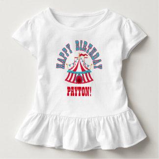 Camiseta de encargo del carnaval del cumpleaños