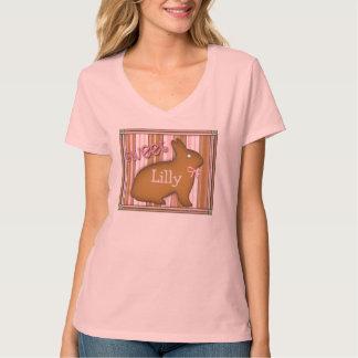 Camiseta de encargo del chocolate dulce del