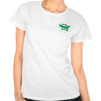 Camiseta de encargo del cinturón verde de los arte