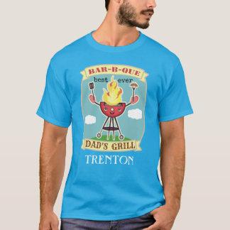 Camiseta de encargo del día de padre del Bbq del
