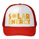 Camiseta de energía solar del regalo gorros bordados