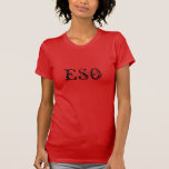 Camiseta de ESO Playeras
