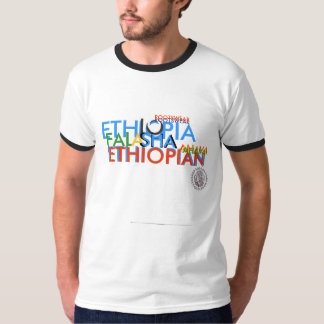 Camiseta de ETIOPÍA Poleras