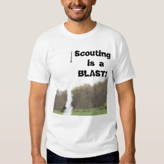 Camiseta de exploración de la ráfaga playeras
