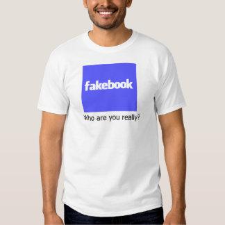 Camiseta de Fakebook Remeras