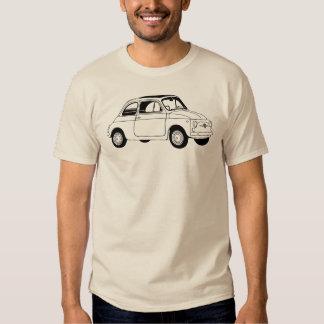 Camiseta de Fiat 500 (Cinquecento) Poleras
