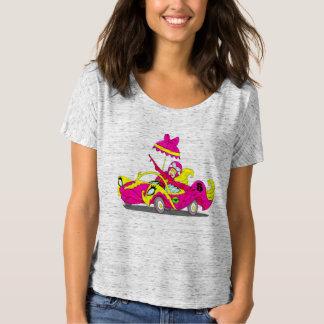 Camiseta de Flowy de las mujeres de PPandCP Polera