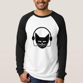 Camiseta de FM del gato negro Playeras