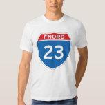 Camiseta de Fnord 23 Discordian Remera