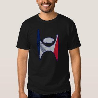 Camiseta de Francia del símbolo del humanista Playera