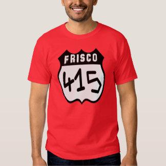 Camiseta de Frisco (415) Remera
