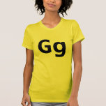 Camiseta de G