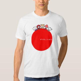 Camiseta de Ganbare Nipón Poleras