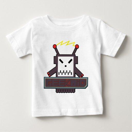 Camiseta de Geekoid de los bebés