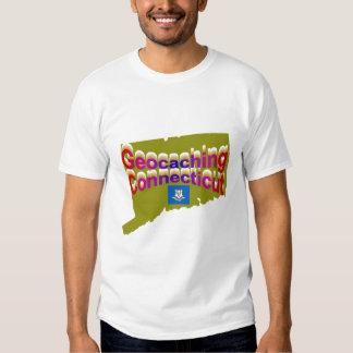 Camiseta de Geocaching Connecticut Playera