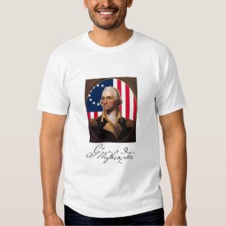 Camiseta de George Washington Polera