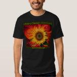 Camiseta de Girasol Dinámico Playera
