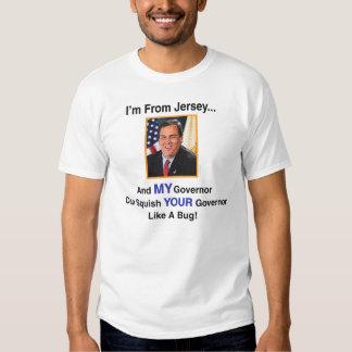 Camiseta de Gov. Chris Christie Poleras