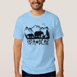 Camiseta de Great Outdoors del oso de la papá Playera