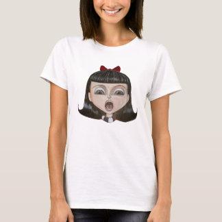 Camiseta de grito de la musa