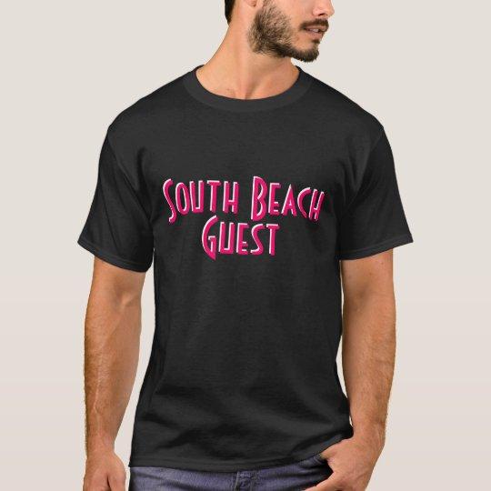 CAMISETA de Guest~ de la playa del ~South