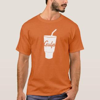 Camiseta de GulpJS (roja)