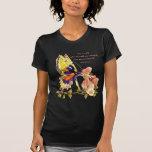 Camiseta de hadas de la oscuridad del beso del