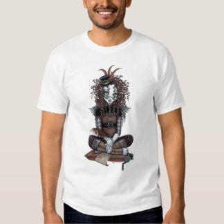 Camiseta de hadas del arte de Steampunk del Remera