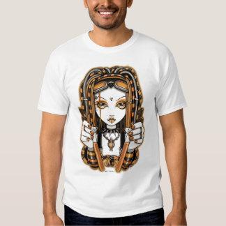 Camiseta de hadas del arte del gótico cibernético remeras