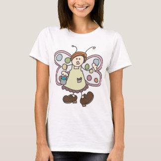 Camiseta de hadas del dibujo animado de la señora