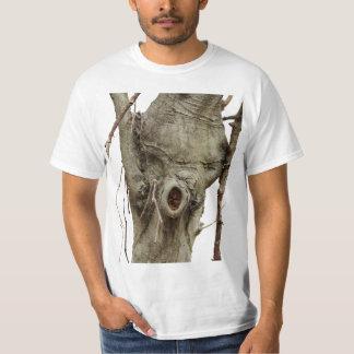 Camiseta de hadas del grito de guerra del árbol playera