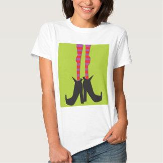 Camiseta de Halloween con un diseño de los pies de Remeras