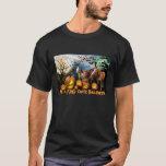 Camiseta de Halloween del caballo