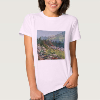 Camiseta de Hanes ComfortSoft de las mujeres de Camisas