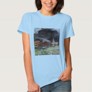 Camiseta de Hanes ComfortSoft de las mujeres de Playera