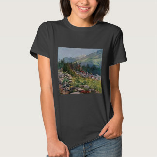 Camiseta de Hanes ComfortSoft de las mujeres de Playeras