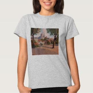 Camiseta de Hanes ComfortSoft de las mujeres de Polera