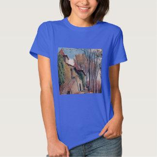 Camiseta de Hanes ComfortSoft de las mujeres de Poleras