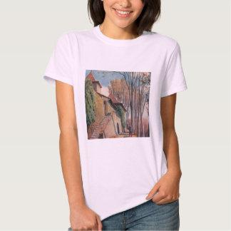 Camiseta de Hanes ComfortSoft de las mujeres de Remeras