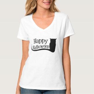 Camiseta de Hanes de las mujeres del feliz