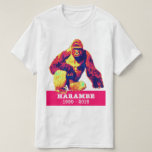 Camiseta de Harambe