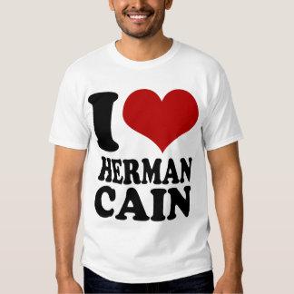 Camiseta de Herman Caín del corazón I Poleras