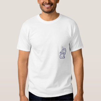 Camiseta de herradura básica del torneo playera