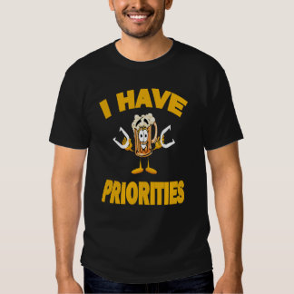 Camiseta de herradura de la Oscuro-Prioridad Playeras