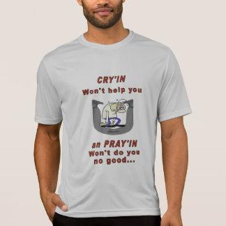 Camiseta de herradura de la tecnología del deporte playera